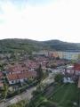 Pohled z okna hotelu na Koper
