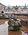 Kašna v areálu Zwingeru 2