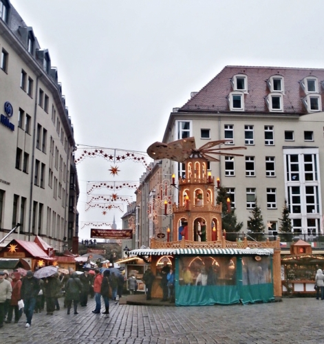 Trhy u Frauenkirche
