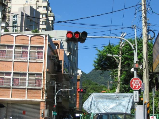 Odpočítávání na semaforech