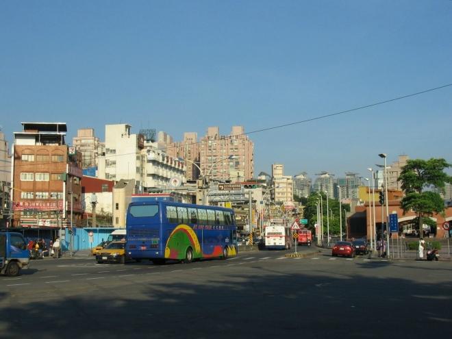 I když Tan-šuej patří mezi okrajové čtvrti Tchaj-peje, je zde poměrně rušno.
