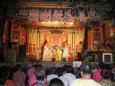 Pouliční divadlo, čtvrť Tan-šuej (Danshui), Tchaj-pej
