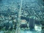 Tchaj-pej z mrakodrapu Taipei 101