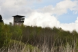 Vyhlídková věž je většinou obsazena vojáky.