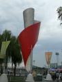 Monument olympijské pochodně.