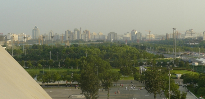 Výhled na Peking