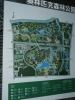 Mapa rozlehlého olympijského parku. Po obvodu má určitě alespoň 5 kilometrů.