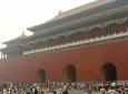 Architektura Zakázaného města. A spousta Číňanů.