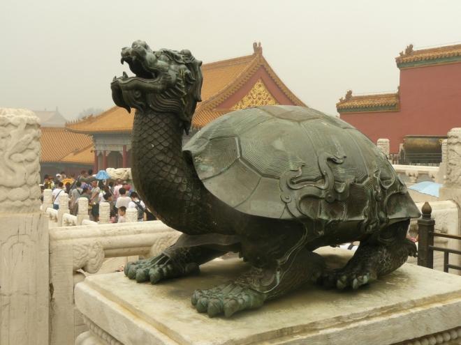 Zato želva vypadá trochu rozzuřeně a bojově.