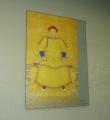 Jednou jsme zašli dovnitř nějakého domu podívat se na jednu z výstav. Kupodivu se v místnosti dá hýbat. Na stěně visí portrét nějakého císaře.