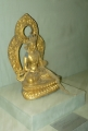 Malá soška Buddhy byla jednou z mála náboženských symbolů, které jsem spatřil.