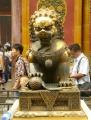 Tento zvláštní lev je pro čínské umění typický, spatřil jsem ho během pobytu několikrát.