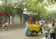 Pohled na nepříliš rušnou ulici poblíž Zakázaného města