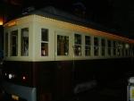 Turistickou ulicí jezdí stará tramvaj, zřejmě ještě z koloniálních časů.