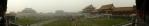 Panorama nádvoří v Zakázaném městě