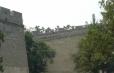Čínská zeď u brány