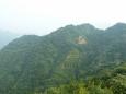 Hory u Pekingu jsou sice poměrně nízké, ale zato strmé a porostlé bujnou vegetací.