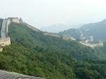 Dál, kam se jsem kvůli rekonstrukci nedostal, klesá zeď do údolí