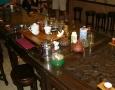 Čajové nádobí, focené po obřadu