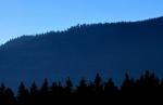 Poloha rozhledny od Veselky vypadá, jako by ani nebyla na nejvyšším vrcholu hory.