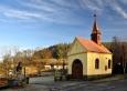 Kaple v Tažovicích.