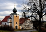 Barokní kostel Jména Panny Marie v Horách Matky Boží leží 637 m n. m. a byl založen v roce 1637.