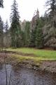 Pohled k hradu od Ostružné.