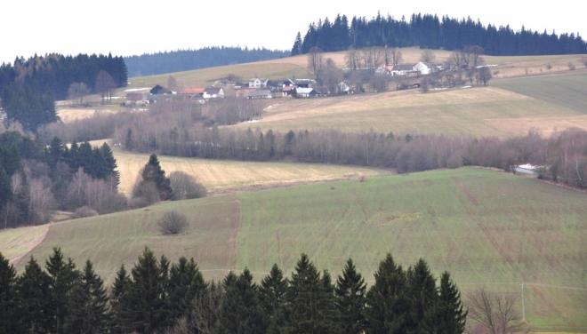 Častonice a Kolářova hora.