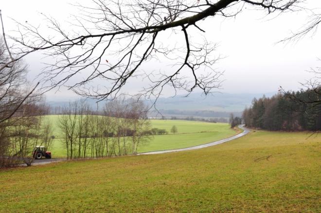 Pohled do údolí Úhlavy.