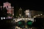 Trojmostí (Tromostovje), Lublaň