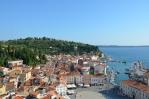 Výhled z kostela svatého Jiří, Piran