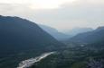 Údolí Soči poblíž Tolminu, Slovinsko