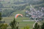 Pohled z vrchu Kozlov Rob, Slovinsko
