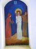 """A ještě jeden obraz prý byl umístněn v kapli. Na něm byla namalovaná věrná podoba kaple a pod ní česko-německý nápis: """" V této kapličce začala Marie Svobodová, 5 let stará, z Velkého Ždíkova v září roku 1871, po vroucí modlitbě k Matce Boží, ponejprv chodit"""".(Tento údaj je zaznamenán v Körbrově průvodci Šumavou z roku 1924). Zachovala se i pohlednice,  odeslaná 15. srpna roku 1906 z ferchenhaidské pošty do Vlachova Březí. Přesná citace na pohlednici zní: """" V této   kapli v lese byla uzdravena  5 let stará holčička, byla mrzák a otec jí nes na zádech a zpátky šla sama do Velkého Ždíkova. Jest to zázračná kaple  Panny Marie v lese."""" Vznikají tak dva stejné údaje o zázračném uzdravení pětileté dívenky ovšem ve značném časovém rozmezí 35 roků."""