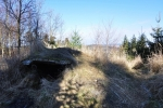Bunkr nedaleko vrcholu TisovnIku.