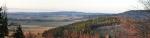 Celkový pohled na krajinu u Tisovníku.