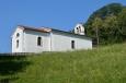 Kostel svatého Petra poblíž Tolminu, Slovinsko