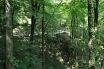 Silnice nad řekou Tolminkou, Triglavský národní park, Slovinsko