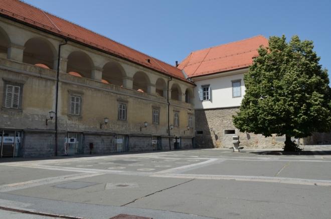 Mariborský zámek byl vybudován koncem 15. století z důvodu posílení severovýchodní části městských hradeb. Původně to tedy byl spíše hrad, zámek se z něj stal až později, aspoň co se mi podařilo najít.