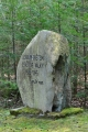 Pomník lesníkům.