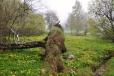 Nad bývalou obcí Mlaka. Malých vísek a samot bylo na Zlaté stezce mnoho, dnes jsou jejich jména často již zapomenuta.