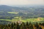 Pohled na Greinet a Waldkirchen.