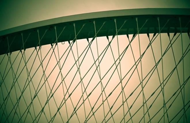 Jdeme i kolem nového Trojského mostu.