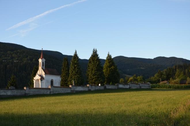 Ráno v Lovrenci