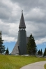 Kostel Ježíše Krista (Cerkev Jezusove spremenitve) na vrcholu Rogly, Slovinsko