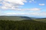 Rozhledna na Rogle (Pohorje, Slovinsko), výhled na sever až severozápad