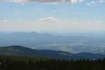 Rozhledna na Rogle (Pohorje, Slovinsko), výhled na jihovýchod