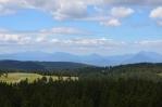 Rozhledna na Rogle (Pohorje, Slovinsko), výhled na západ