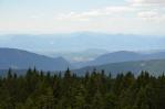 Rozhledna na Rogle (Pohorje, Slovinsko), výhled na jih až jihozápad