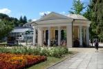 Pavilon v lázeňské čtvrti města Rogaška Slatina, Slovinsko